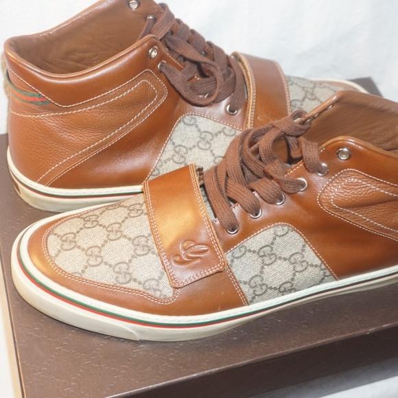 Gucci Shoes | Mens Gucci High Top